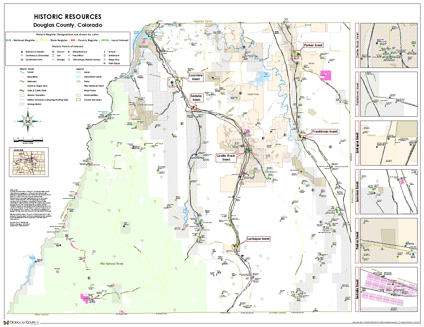 Douglas County's GeoHub - maps on
