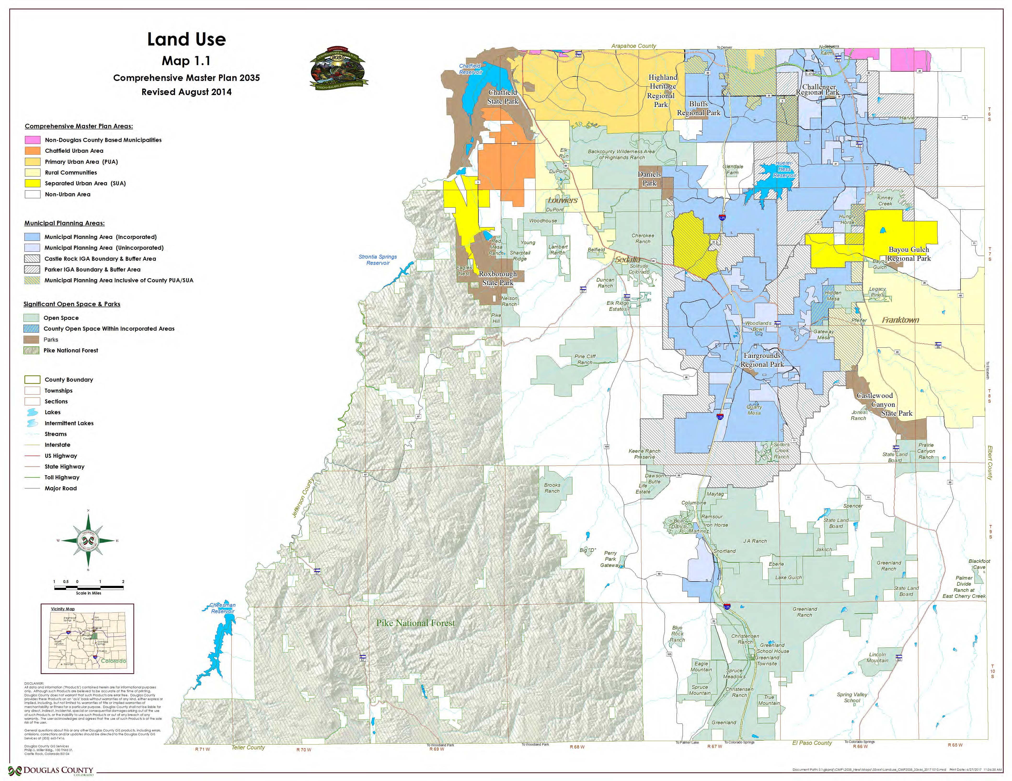 Douglas Countys Geohub Maps - Us-land-use-map